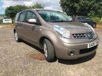 Nissan Note 1.4, gold, low mileage, cheap to run, petrol, manual , air con