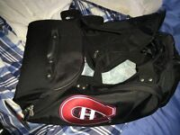 Montreal canadiens luggage