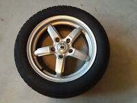 Konig Airstrike Silver Rims with Machined Face
