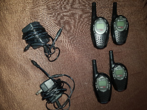 Two-Way Handheld Radio 29 km range (4 units)