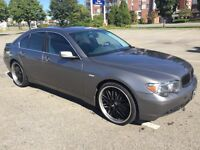 """BMW 745i 2002 one of a kind!! Lots of extras!! 22"""" mags/rims"""
