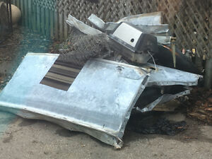 Free pile of Metal- must come and remove Cambridge Kitchener Area image 1