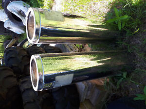 Stainless wood stove pipe