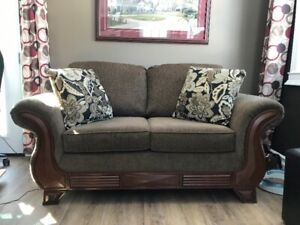 Simplicity Sofa and Love seat