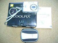 Nikon Coolpix L11, 6 MP digital camera