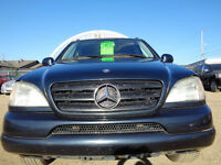 2000 Mercedes-Benz M-Class AWD HEATED LEATHER-SUNROOF NAVI