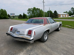 1977 Pontiac GrandPrix Street Warrior project car