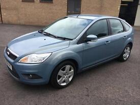 5808 Ford Focus 1.6 100ps Style Blue 5 Door 56195mls MOT 12m
