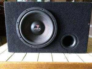 Focal car sub