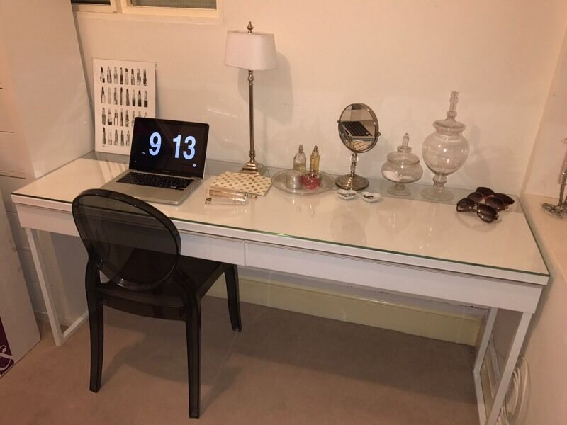 ikea desk besta burs dressing table in clifton bristol gumtree. Black Bedroom Furniture Sets. Home Design Ideas