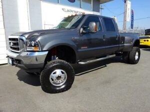 2003 Ford F-350 Lariat Dually 4x4, 8 Inch LIFT, DPF &  EGR Delet