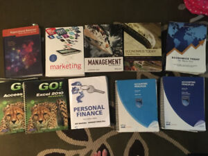 NAIT Business Admin Year 1 Textbooks all of them