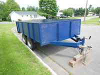 HEAVY DUTY TANDEM - TRADE FOR SMALLER TRAILER, DIRT BIKE