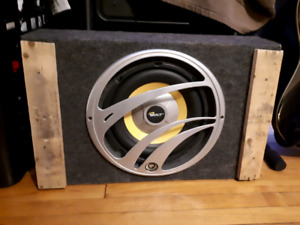 """10"""" Subwoofer with Amp"""