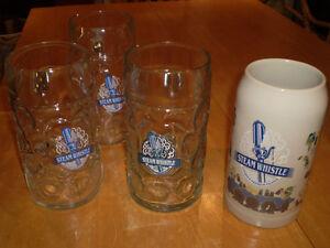 BEER MUGS AND GLASSES, STEAM WHISTLE,CARLSBERG,OV,MILLER,SCHLITZ Windsor Region Ontario image 2