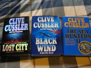 Clive Cussler Hard Cover Collection