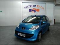 2008 PEUGEOT 107 URBAN MOVE HATCHBACK PETROL