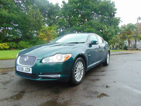 Superb 2008 Ultra Low Mileage Diesel Jaguar XF 2.7TD Automatic Luxury Must See