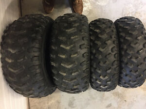 4 Wheeler ATV Tires $95 for the Set