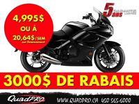 2015 CFMOTO 650TK 3000$ DE RABAIS