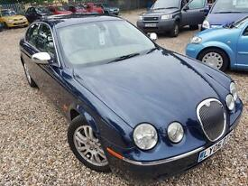 Jaguar S-TYPE 2.7D V6 auto SE, Full Service History, Mot Feb 2018, Leather