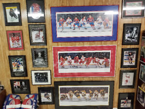 Large & Extensive Hockey Memorabilia Collection Downsizing Now