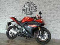 Yamaha YZF R125 ABS 66 Plate *654 MILES ONE OWNER!*