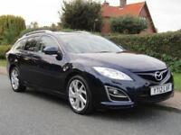 2012 Mazda 6 2.2d 180 BHP SPORT 5DR TURBO DIESEL ESTATE ** FULL HISTORY * HIG...