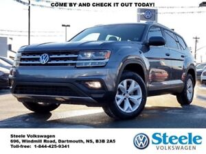2018 VOLKSWAGEN ATLAS Comfortline - Certified, Lease buy-back, l