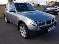 BMW X3 - 3.0d AUTO - FULL SERVICE HISTORY, FULL LEATHER