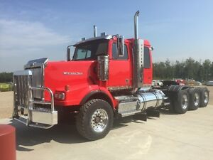 TRI DRIVE WESTERN STAR, HYDRAULICS AND  PUMP WITH COOLER