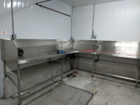 Stainless Steel Butcher Counter