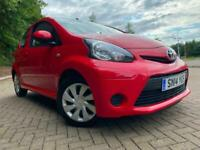 BARGAIN BE QUICK WONT BE HERE LONG 2014(14)TOYOTA AYGO 1.0 MOVE 3DR 12 MTHS MOT