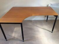 IKEA corner office table / corner desk