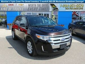 2013 Ford Edge Limited | AWD | V6 | PST Paid  - Leather Seats -
