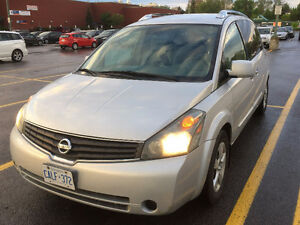 2007 Nissan Quest with VALID E-TEST