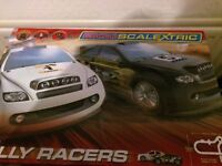 Micro scalextric with extra track