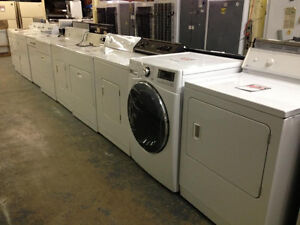 Used SALE! - DRYERs starting $170 - WASHERs $250 - FRONT LOAD Style $300  -  9267-50 STREETEDM