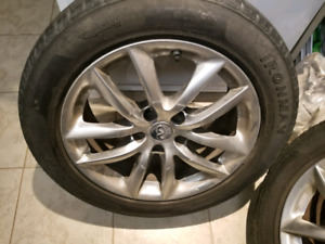 "Infiniti G37 Rims and Tires 17"" 5x114.3 FIRM PRICE"