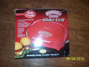 betty croaker burgerbite slider grill