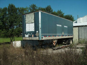 28 foot POWER FUEL AND SHOP VAN (single axle, insulated)
