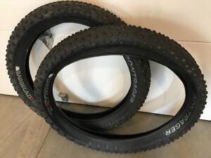 Fat Bike tires Barbegazi TLR 26x4.70  never used