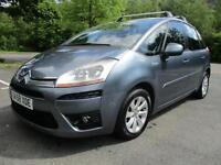 08/58 CITREON C4 PICASSO 1.6 HDI VTR+ SEMI AUTO MPV WITH ONLY 55,000 MILES