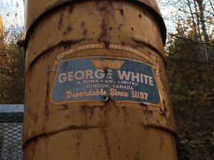 Snowblower. George White & Sons 3 Point Hitch Snowblower.
