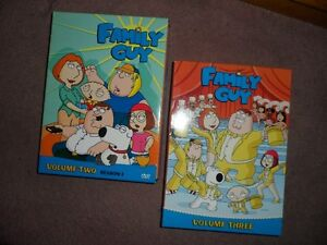 Volumes 2 and 3 of The Family Guy on DVD