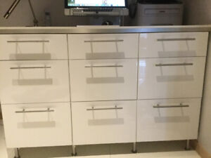 IKEA 9 drawer kitchen /workroom cabinet