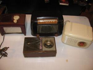 Vintage Radios (3,1948, Westinghouse  mode l501 1950 Rogers Maje