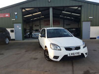 2010 Kia Rio 1.5CRDi 1 DIESEL MANUAL WHITE PX WELCOME