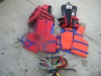 LIFE JACKETS/60FT MULTI LENGTH ROPE