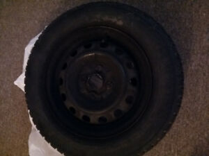 Deux pneus d'hiver